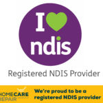 HomeCare Repair Australia are a Registered NDIS Provider