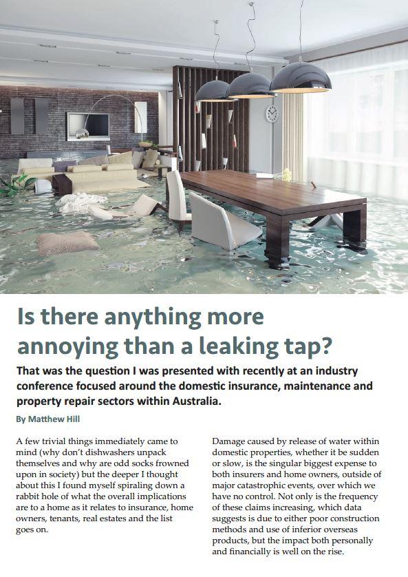 That annoying leaking tap